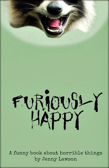 《高兴死了!!!》英文版封面